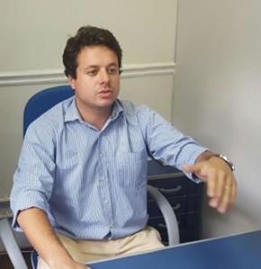 O vereador Jamil Sabrá Neto (PDT)