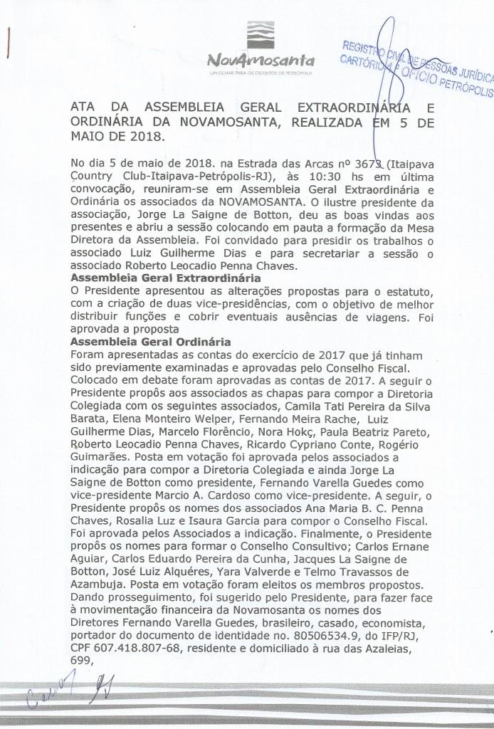 ATA 2018 Novamosanta