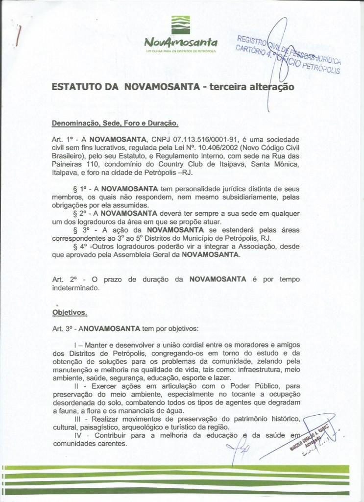 Estatuto 2018 Novamosanta 1 1
