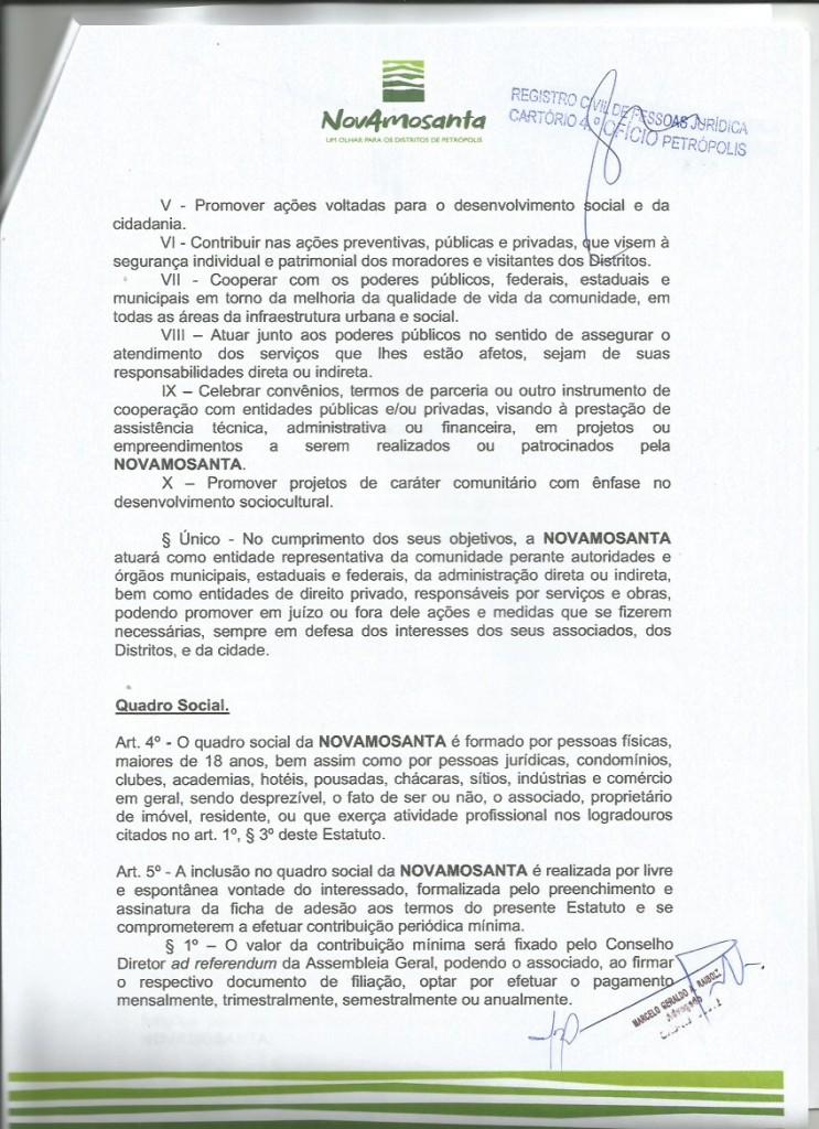 Estatuto 2018 Novamosanta 2
