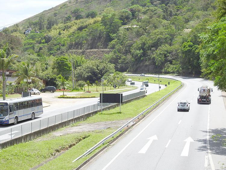 BR-040 Trecho em Petrópolis - Juiz de Fora (foto: Diário)